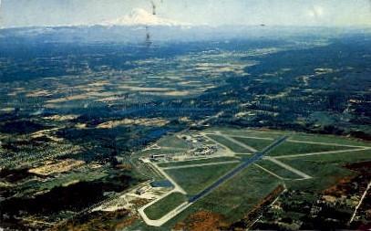 Seattle-Tacoma International Airport - Washington WA Postcard