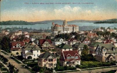 Capitol Hill And Holy Names Academy - Seattle, Washington WA Postcard