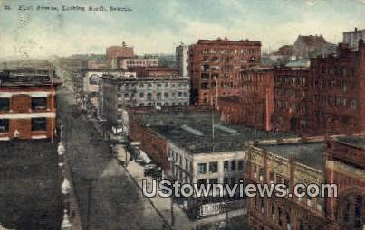 First Ave - Seattle, Washington WA Postcard