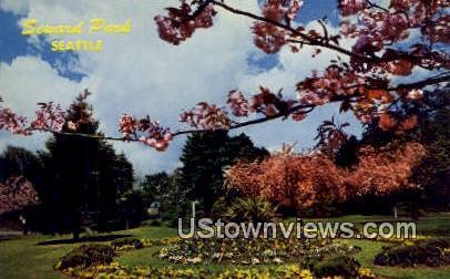 Seward Park - Seattle, Washington WA Postcard