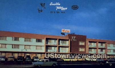 Seattle Travelodge - Washington WA Postcard