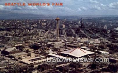 World's Fair - Seattle, Washington WA Postcard