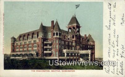 The Washington - Seattle Postcard