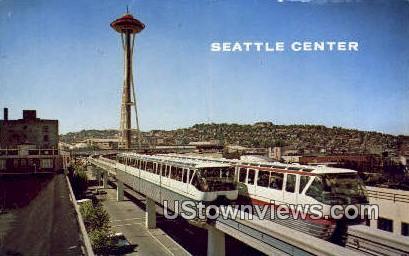 Seattle Center - Washington WA Postcard