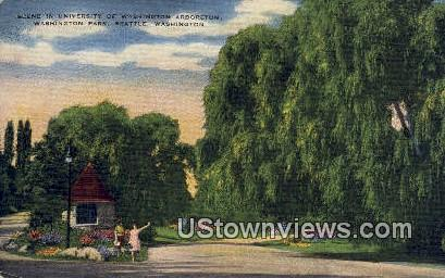 University of Washington Arboretum - Seattle Postcard