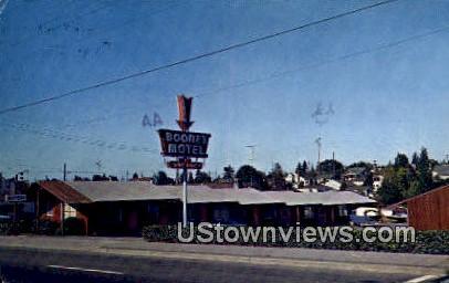 Boone's Motel - Seattle, Washington WA Postcard