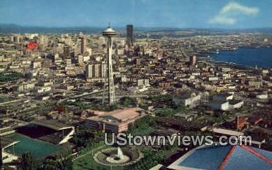 Civic Center - Seattle, Washington WA Postcard