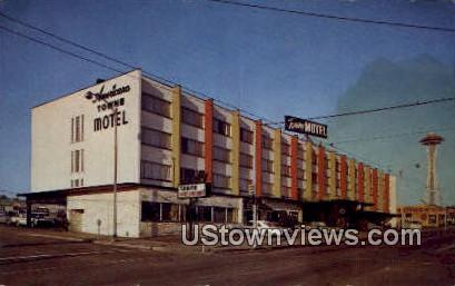 Towne Motor Hotel - Seattle, Washington WA Postcard