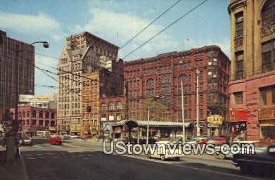 Historic Pioneer Square - Seattle, Washington WA Postcard