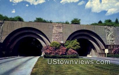 Lake Washington Bridge Tunnel - Seattle Postcard