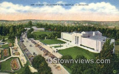 Art Museum, Volunteer Park - Seattle, Washington WA Postcard