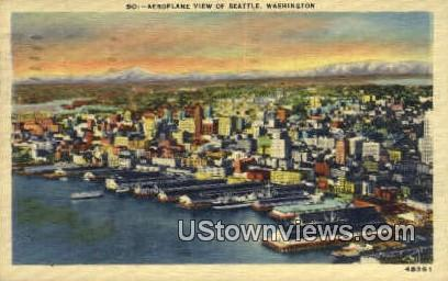 Seattle, Washington,     ;     Seattle, Wash Postcard