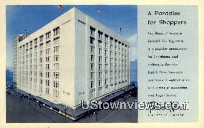 Frederick & Nelson - Seattle, Washington WA Postcard