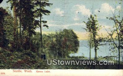 Green Lake - Seattle, Washington WA Postcard