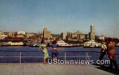 Pacific Coast - Seattle, Washington WA Postcard