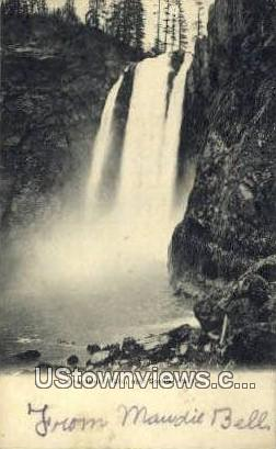 Snoqualmie Falls - Seattle, Washington WA Postcard