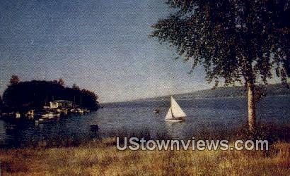 Lake Washington - Seattle Postcard