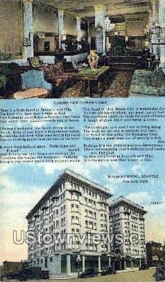 Waldorf Hotel - Seattle, Washington WA Postcard