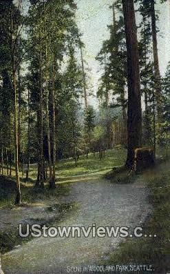 Woodland Park - Seattle, Washington WA Postcard