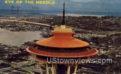 Eye of the Needle - Seattle, Washington WA Postcard