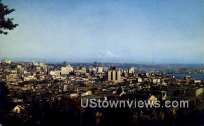 Mt Rainier - Seattle, Washington WA Postcard