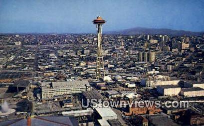 Seattle, Wash,     ;     Seattle, WA - Washington WA Postcard