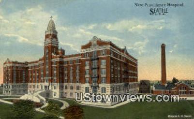 New Providence Hospital - Seattle, Washington WA Postcard