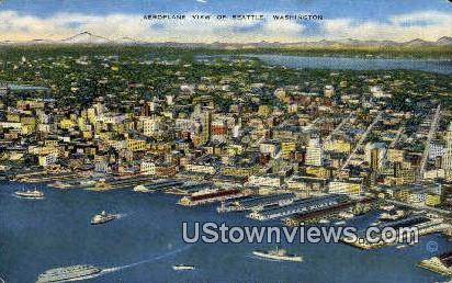 Seattle, WA,     ;     Seattle, Washington Postcard