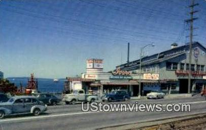 Ivar's Acres of Clams Restaurant - Seattle Waterfront, Washington WA Postcard