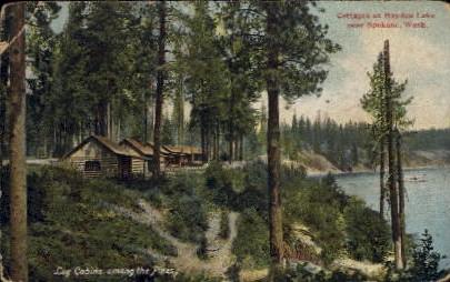 Cottages at Hayden Lake - Spokane, Washington WA Postcard