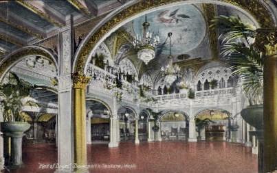 Hall of Doges - Spokane, Washington WA Postcard