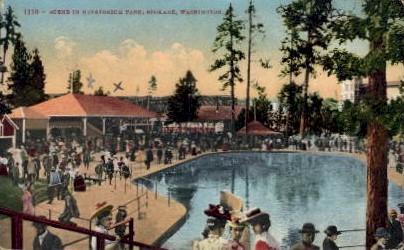 Natatorium Park - Spokane, Washington WA Postcard