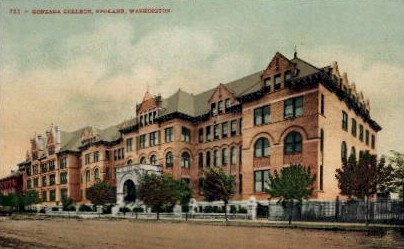 Gonzaga College - Spokane, Washington WA Postcard