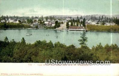 Medical Lake - Spokane, Washington WA Postcard