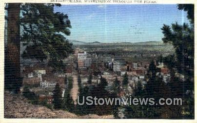 Spokane, Washington,     ;     Spokane, Wash Postcard