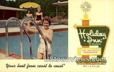 Holiday Inn - Spokane, Washington WA Postcard