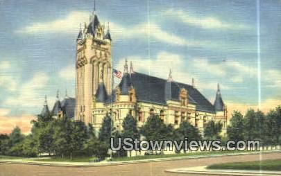 Spokane County Court House - Washington WA Postcard