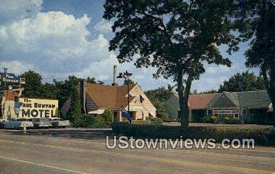 Paul Bunyan Motel - Spokane, Washington WA Postcard