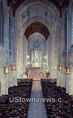 Cathedral of St Jon the Evangelist - Spokane, Washington WA Postcard