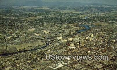 Inland Empire City - Spokane, Washington WA Postcard