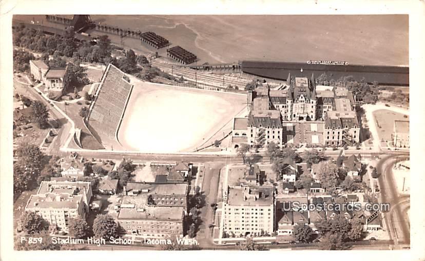 Stadium High School - Tacoma, Washington WA Postcard