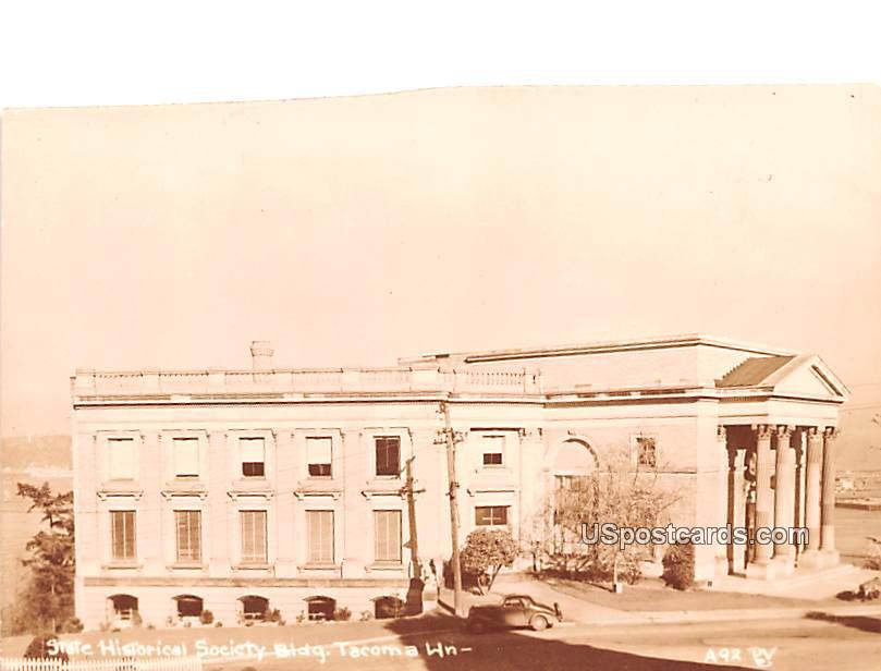 State Historical Society Building - Tacoma, Washington WA Postcard