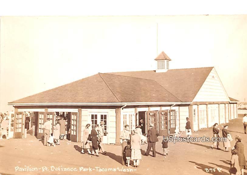 Pavilion - Tacoma, Washington WA Postcard