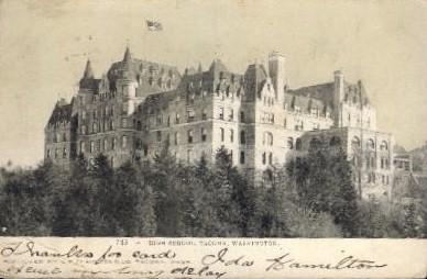 High School - Tacoma, Washington WA Postcard