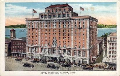 Hotel Winthrop - Tacoma, Washington WA Postcard
