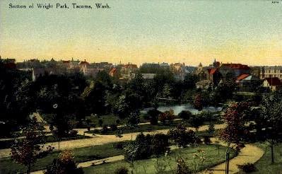 Wright Park - Tacoma, Washington WA Postcard