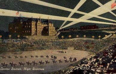 Tacoma Stadium - Washington WA Postcard