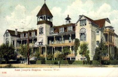 Saint Joseph Hospital - Tacoma, Washington WA Postcard