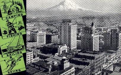 City View - Tacoma, Washington WA Postcard
