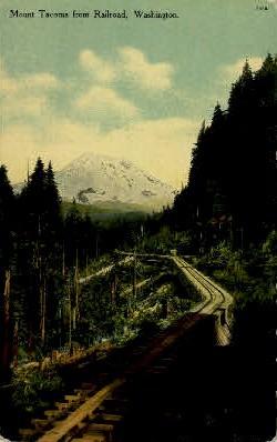 Railroad - Tacoma, Washington WA Postcard